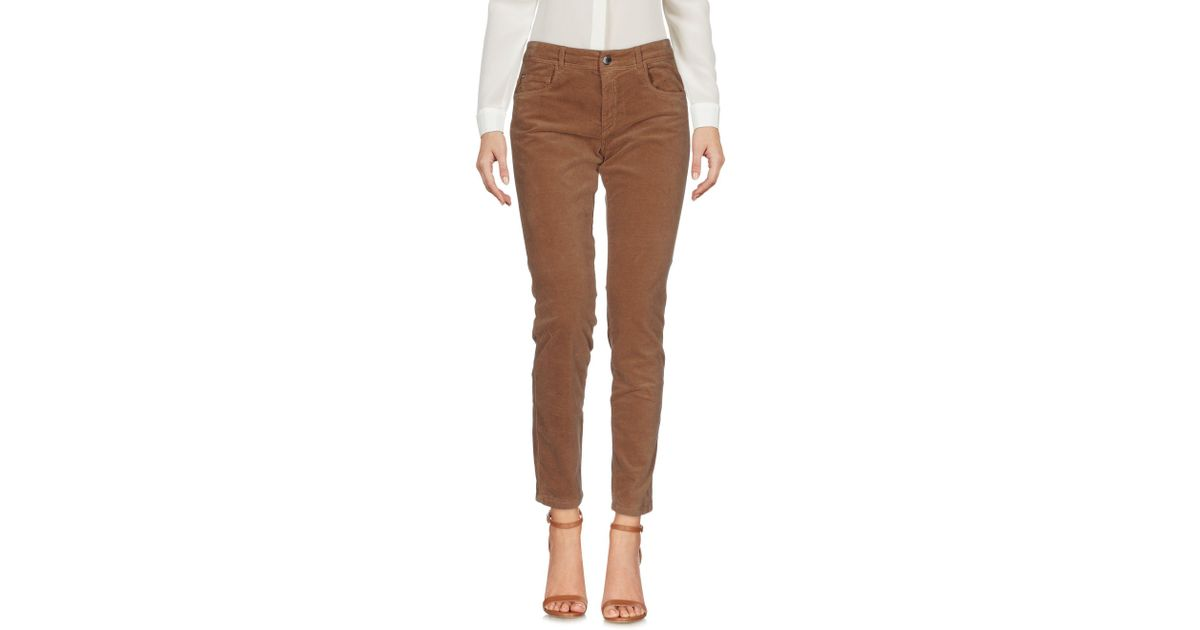TROUSERS - Casual trousers Blue Les Copains zmYPfx5y2i