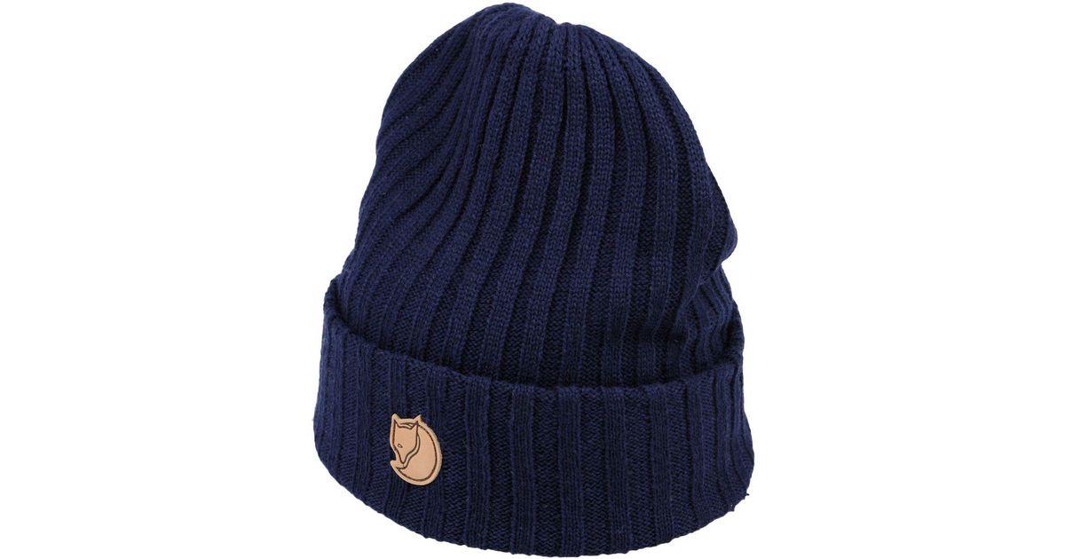 Lyst - Fjallraven Hat in Blue for Men f5ff4d546a15