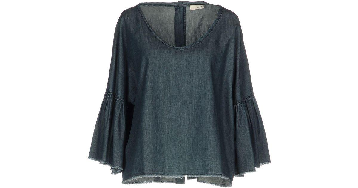 Lyst Suoli Denim Blue In Shirt TcKJl1F
