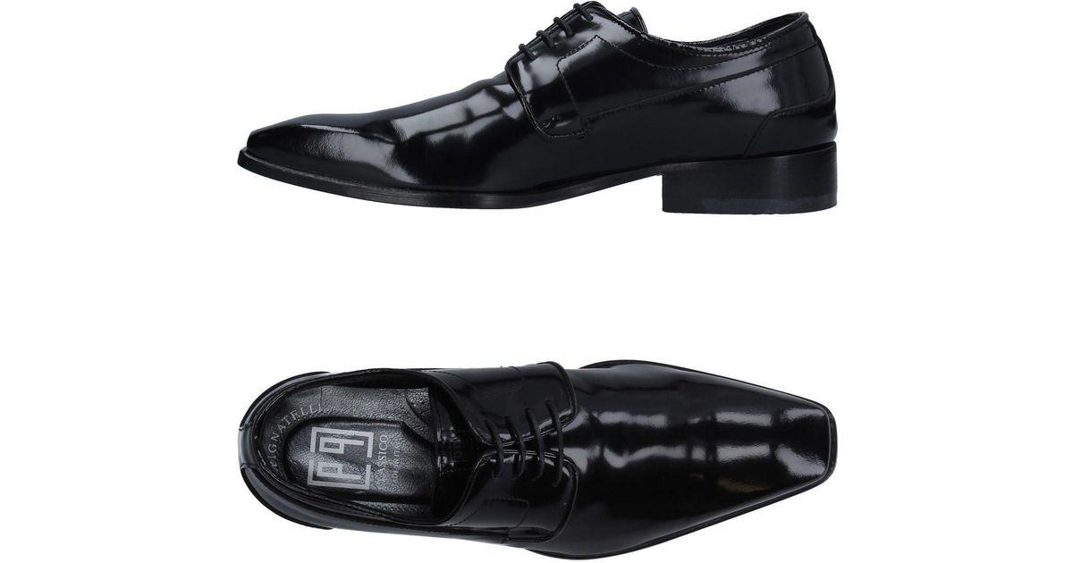 Carlo Lyst Pignatelli Lace up Shoe Black r1rxaBwA
