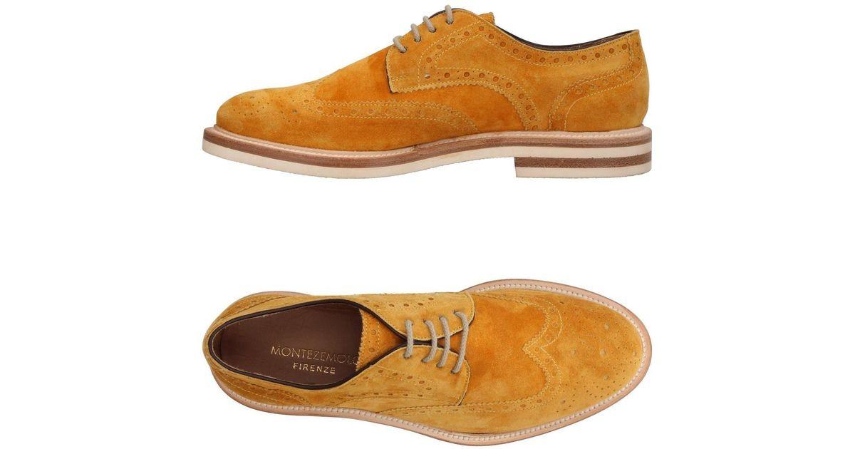 Montezemolo Chaussures À Lacets Fgsh7YfG