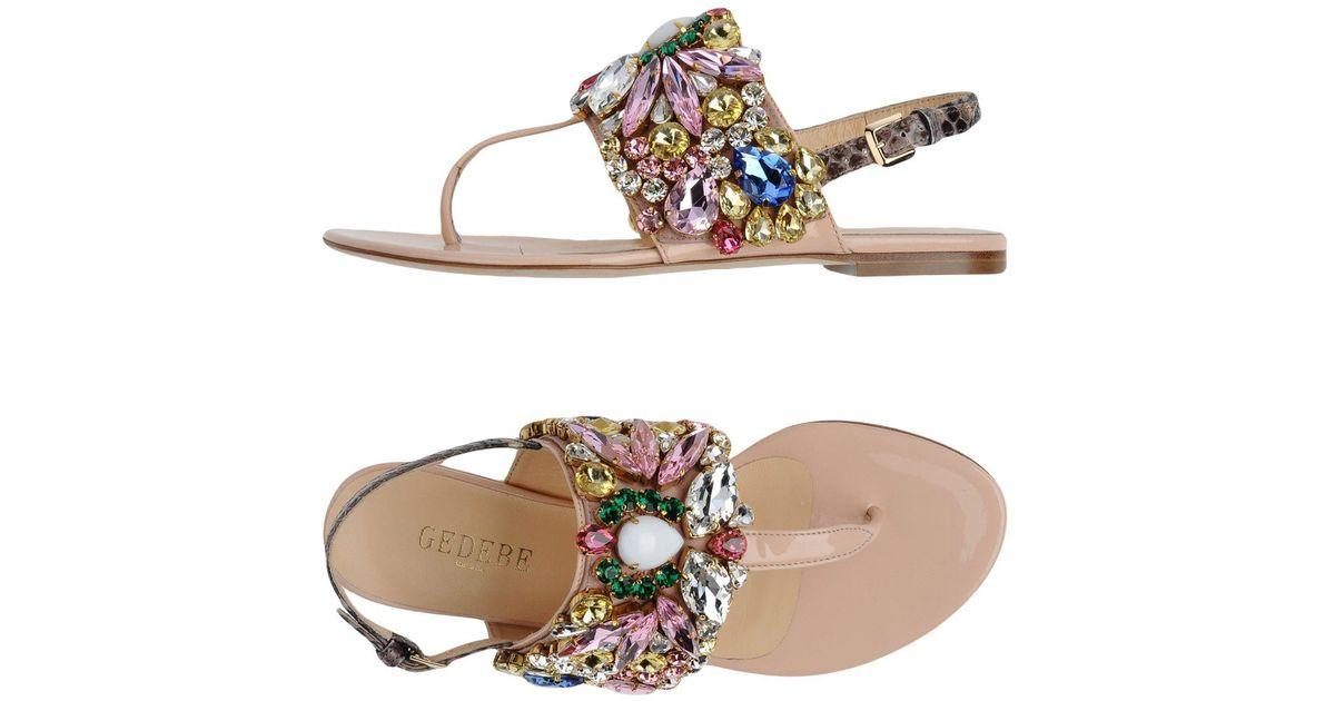 FOOTWEAR - Toe post sandals Gedebe 1s7Z81NQ