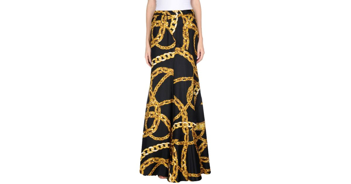 eadc1082ac Lyst - Falda larga Boutique Moschino de color Negro