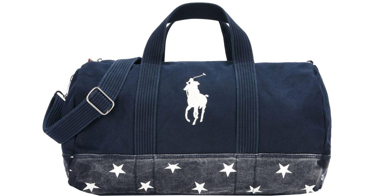 d3d13defdc Polo Ralph Lauren Luggage in Blue for Men - Lyst