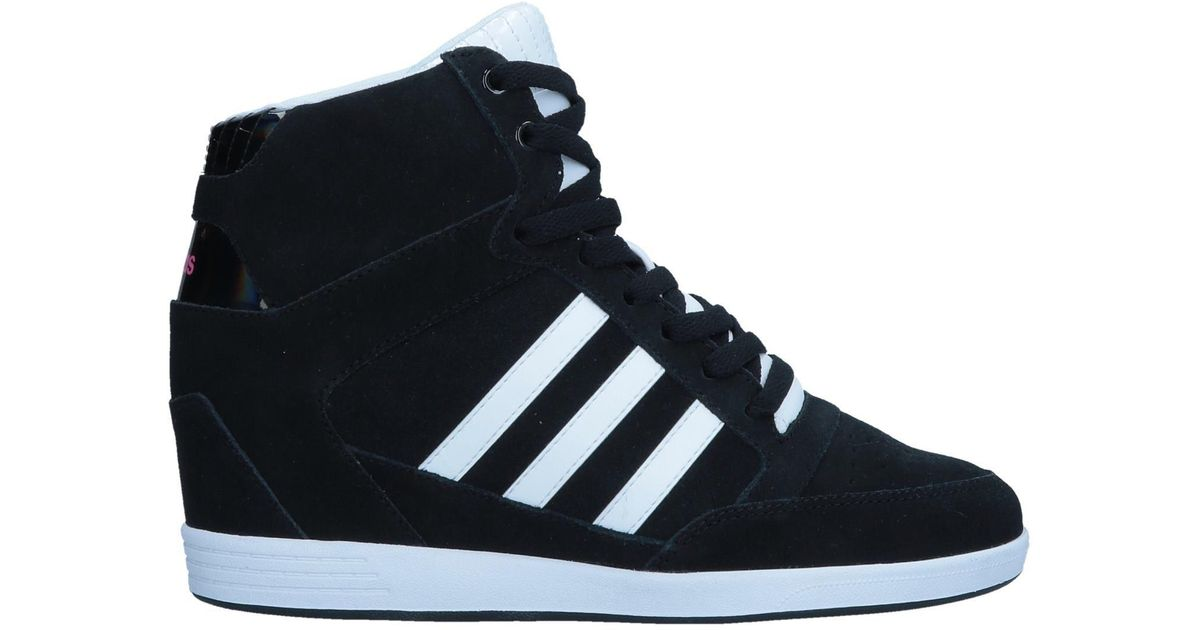 f5935f0bfb1 ... cheapest lyst adidas neo high tops sneakers in black 93135 a255a