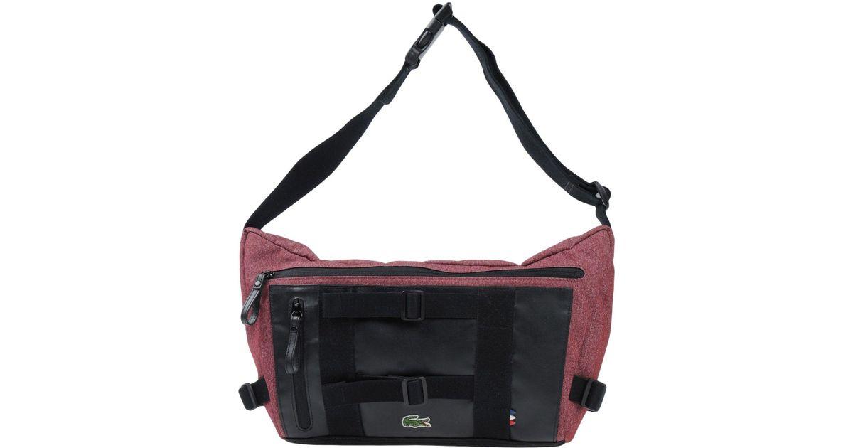 f586ac4b31f6 Lyst - Lacoste Shoulder Bag