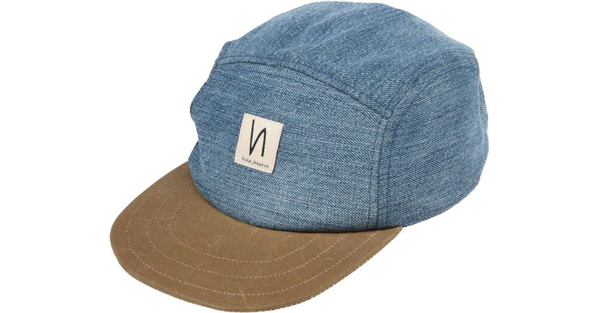 Lyst - Nudie Jeans Hat in Blue for Men 9af00898d52