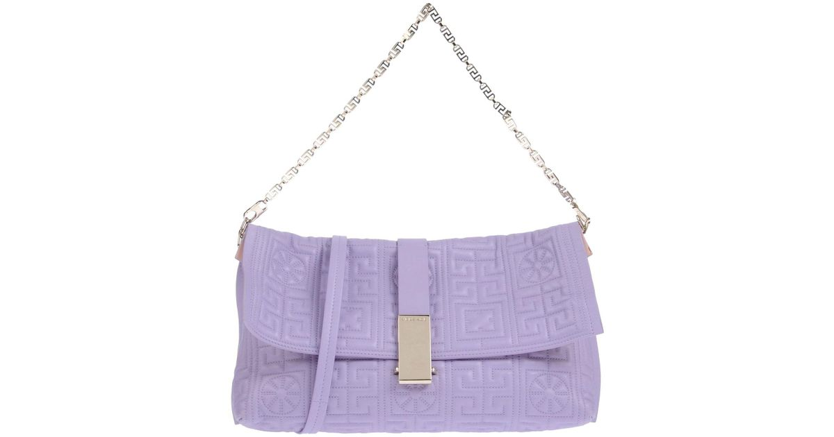 Lyst - Versace Handbag in Purple 73664184dea0f