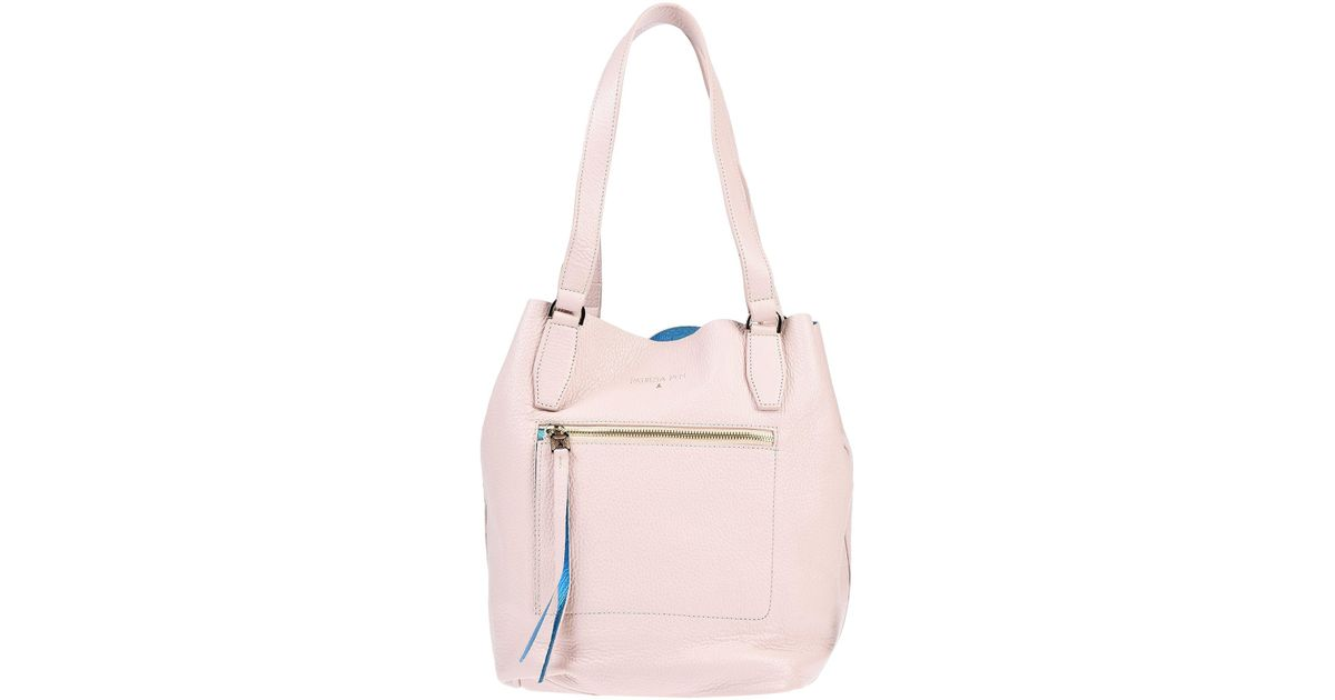 afe7d3a8f6 Patrizia Pepe Shoulder Bag in Pink - Lyst