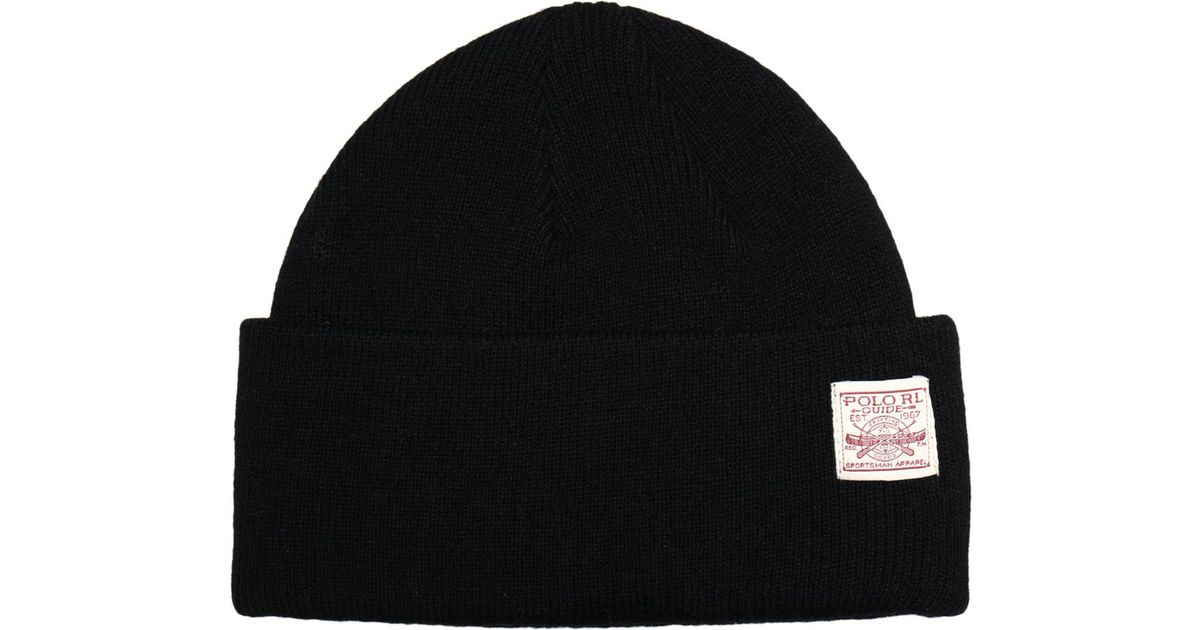 27c4d12be4c Polo Ralph Lauren Hat in Black for Men - Lyst