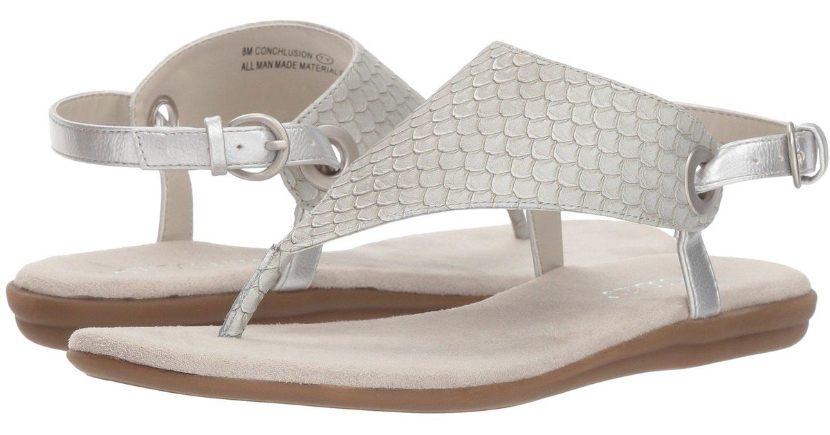 23acdeafbcd8 Lyst - Aerosoles Conchlusion (brown Exotic) Women s Sandals
