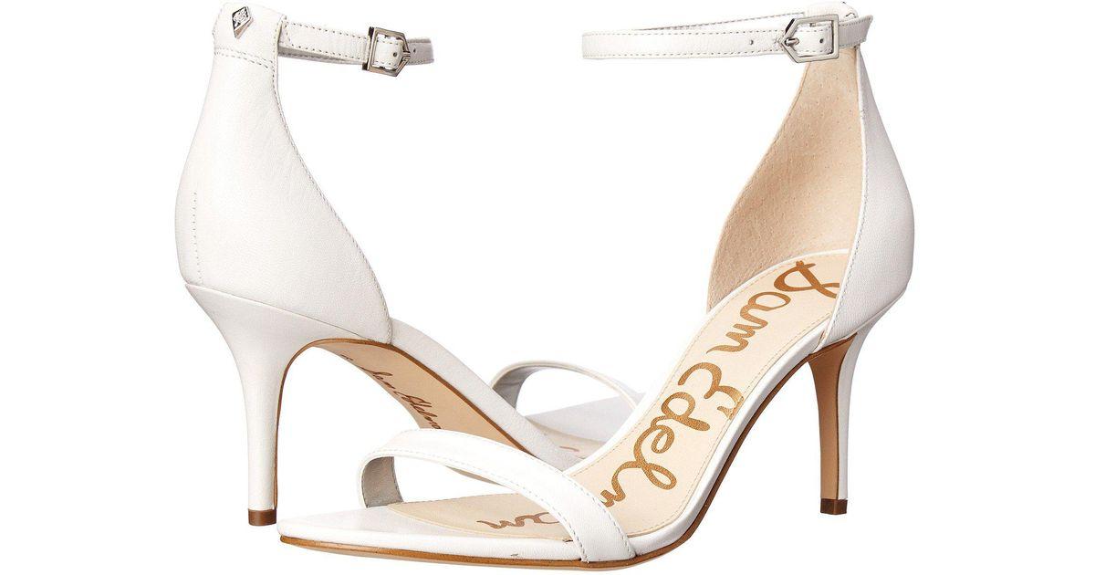 4fd78bd4d68f Lyst - Sam Edelman Patti Dress Sandal in White - Save 55%