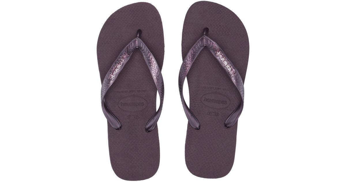 9472081ec Lyst - Havaianas You Maxi Sandal (dark Khaki) Women s Sandals in Purple -  Save 45%