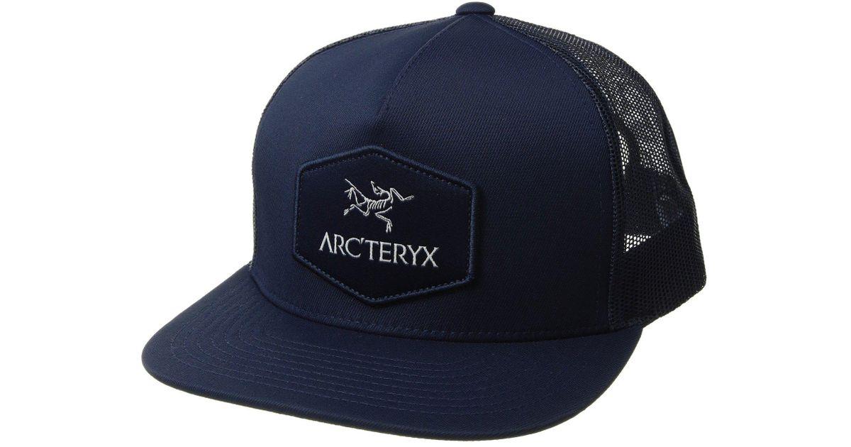 01c9113e1ff1b Arc teryx Hexagonal Patch Trucker Hat in Blue for Men - Lyst