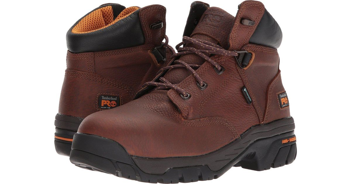 646d09fac89 Timberland Brown Helix 6 Alloy Toe for men