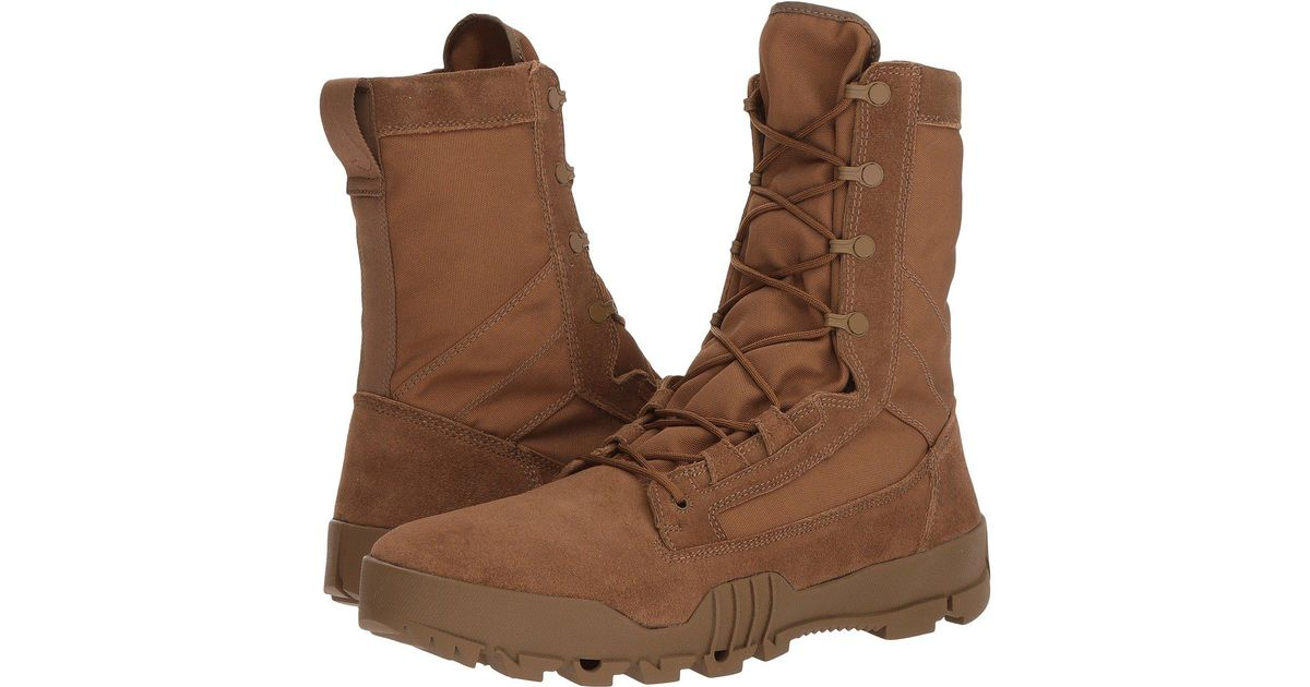 new style 248c7 7e01c Nike Sfb Jungle 8 Leather Boot (coyote/coyote) Men's Boots in Brown for Men  - Lyst