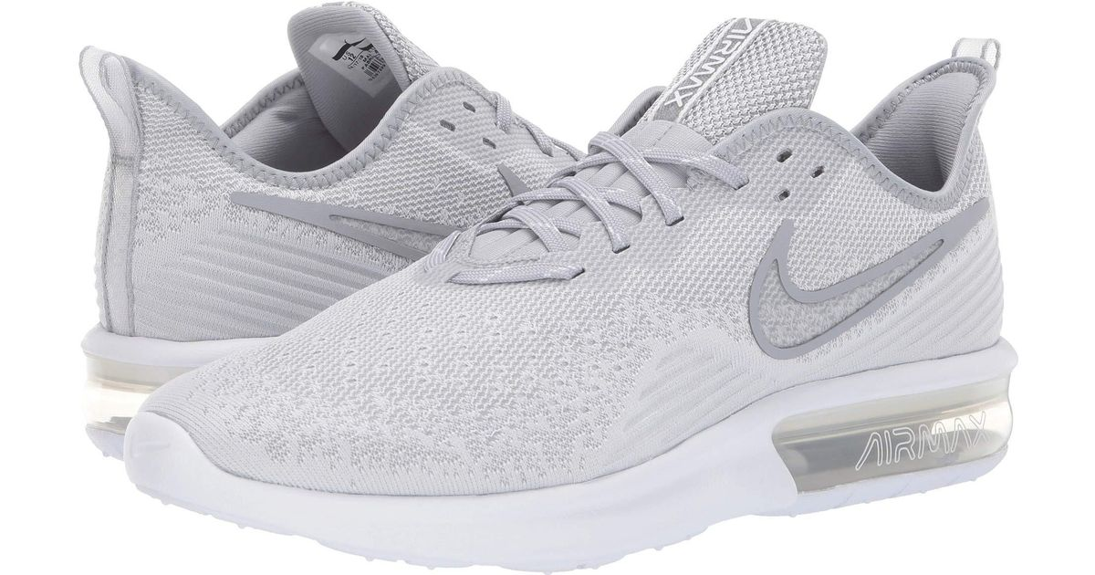 43ee628673a33 Lyst - Nike Air Max Sequent 4 in White for Men - Save 19%
