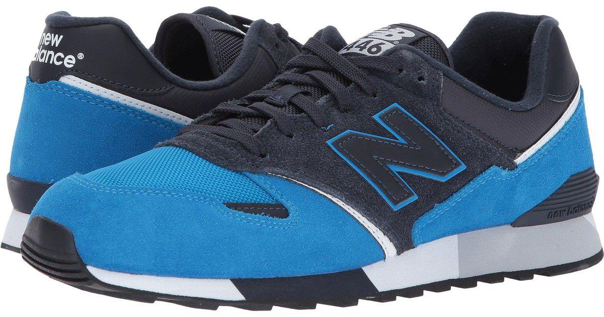 new style 31ff2 468d1 New Balance - Blue U446 - Lyst