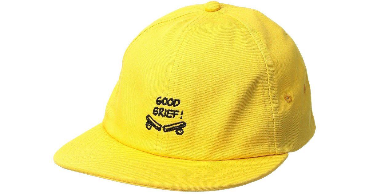 a384ee02f21 Lyst - Vans X Peanuts Jockey in Yellow for Men