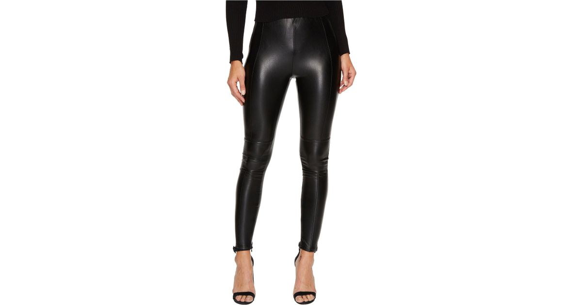 4913ad6a8fb37 Bishop + Young Vegan Leather Leggings in Black - Lyst
