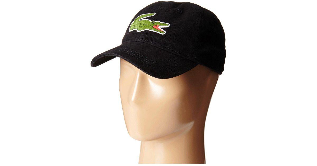 aa09055a9668d1 Lyst - Lacoste Rk8217 Baseball Cap in Black for Men