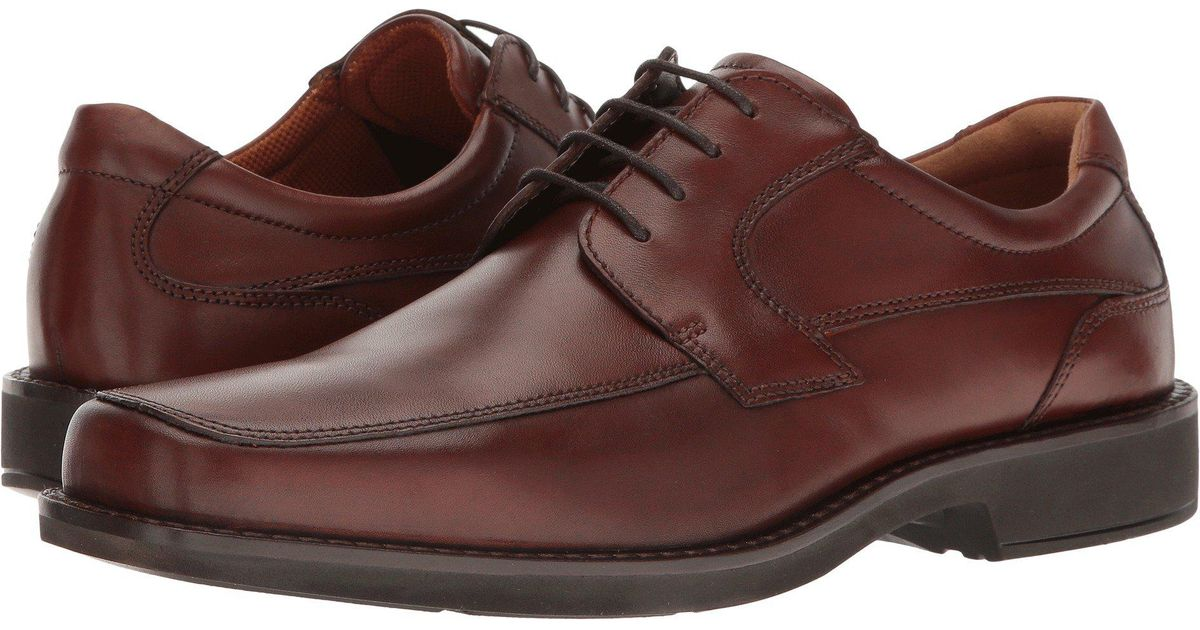 97f30bd73181 Lyst - Ecco Seattle Tie (cognac Cow Leather) Men s Lace Up Wing Tip Shoes  in Brown for Men