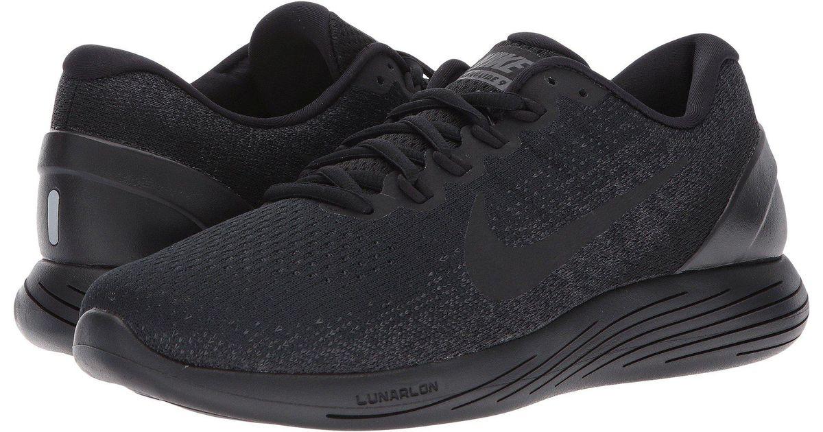 8c1efe5a2d649e Lyst - Nike Lunarglide 9 in Black for Men
