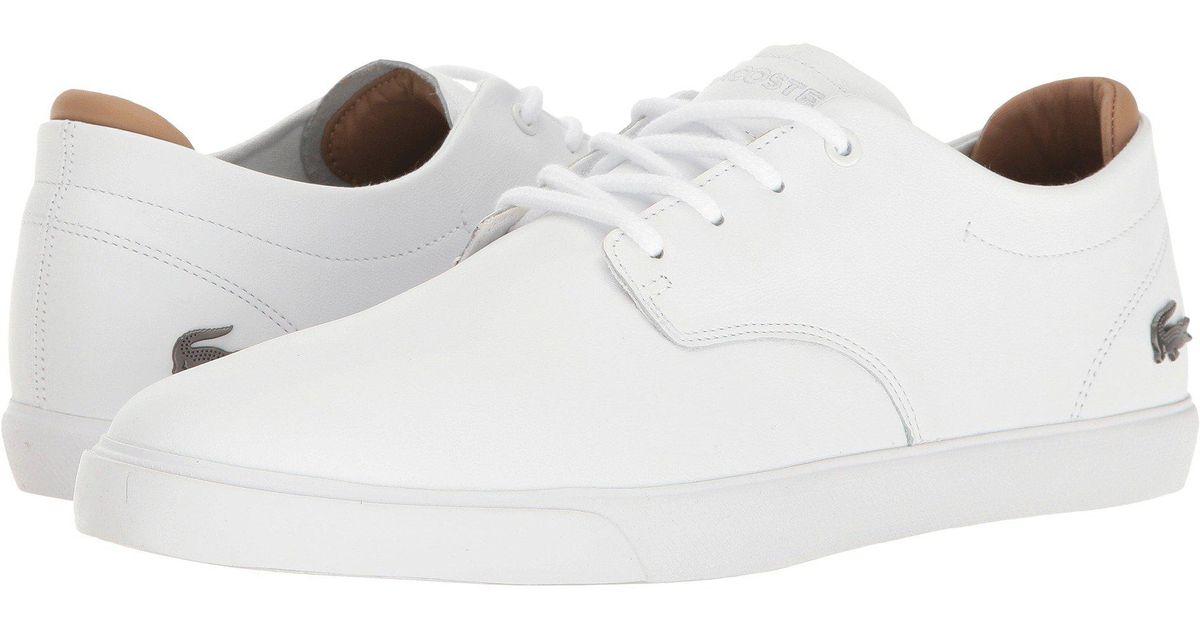 7a8b69a288 Lacoste Espere 117 1 Cam in White for Men - Lyst