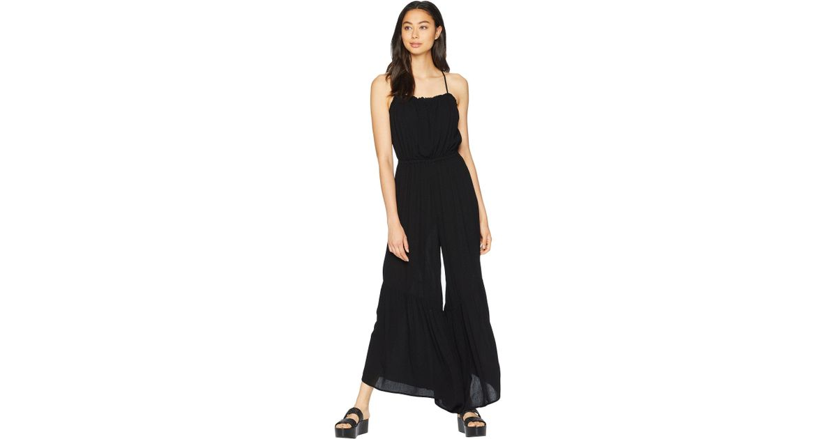 new arrivals factory outlet on feet images of Lyst - Jack BB Dakota Makin' Moves Crinkle Rayon Jumpsuit (black ...