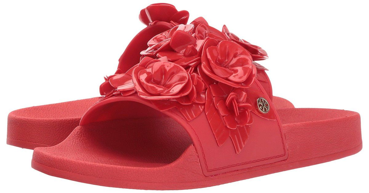 040fdc29b094c Lyst - Tory Burch Sandals in Red - Save 33%