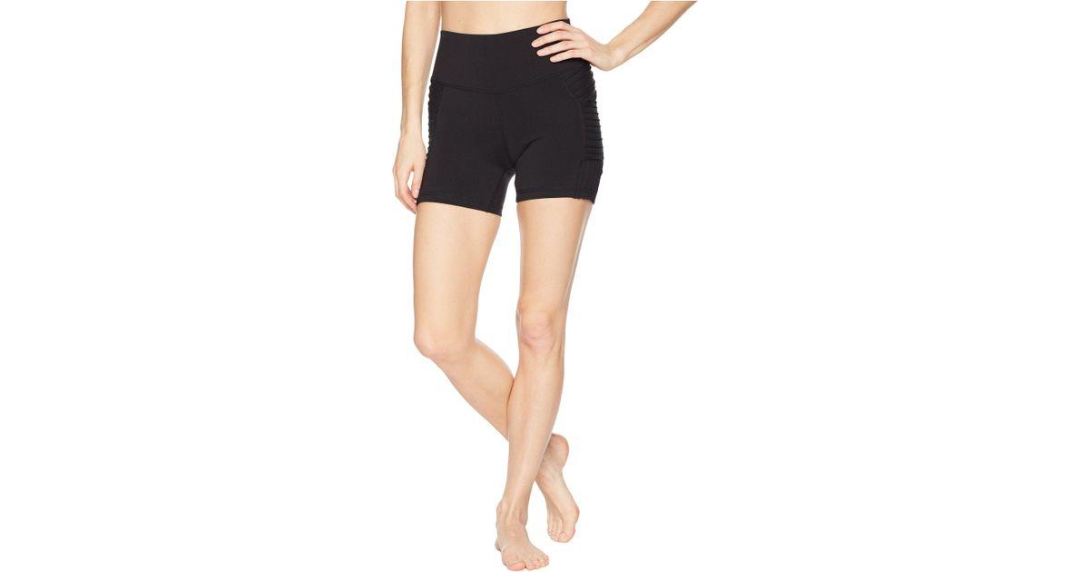 b6d48bc1d8 Alo Yoga High-waist Storm Shorts in Black - Lyst