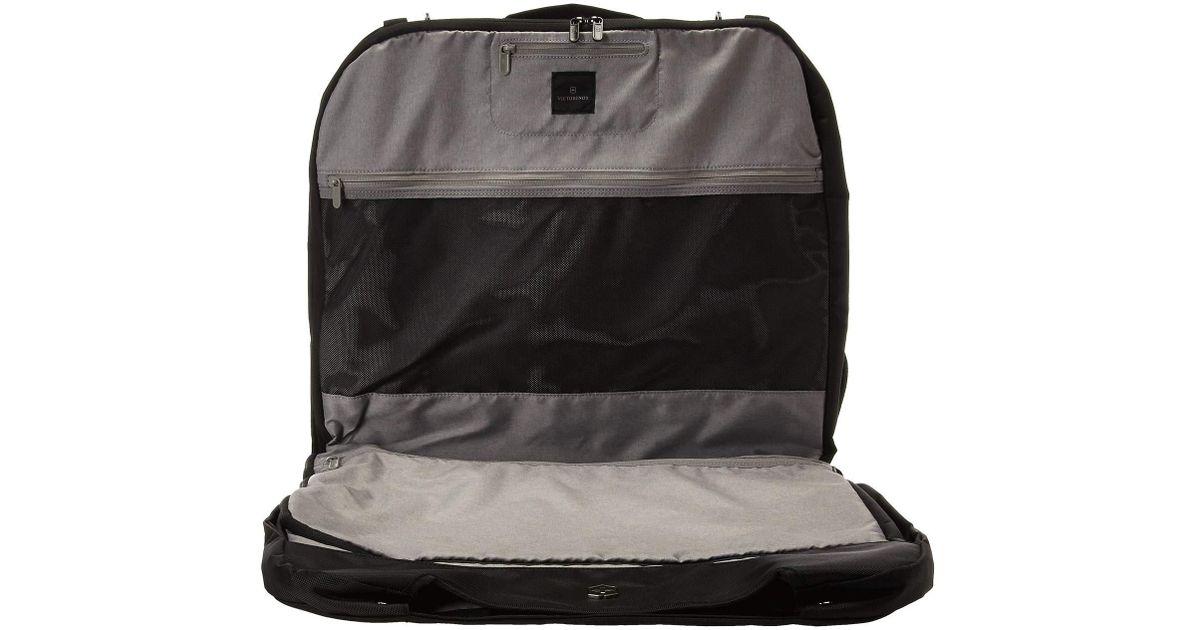 f35c7043c Lyst - Victorinox Werks Traveler 6.0 Deluxe Garment Sleeve (black) Luggage  in Black for Men