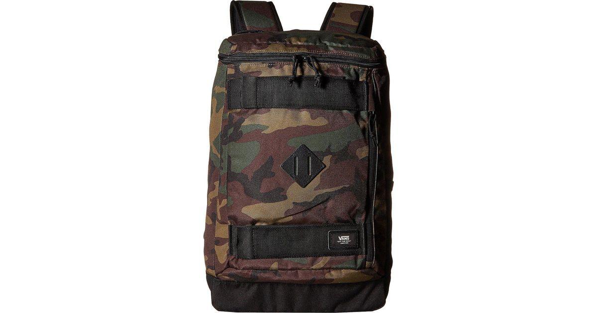 ad577e10a5e79 Vans Hooks Skatepack Backpack (classic Camo) Backpack Bags for Men - Lyst