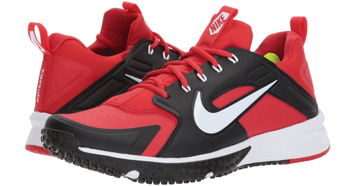 f73adb0b098479 Lyst - Nike Alpha Huarache Turf in Red for Men