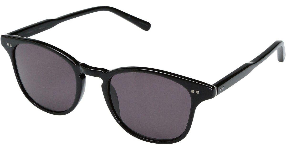 a971476f14a Lyst - Shwood Kennedy Acetate (black grey) Athletic Performance Sport  Sunglasses in Black