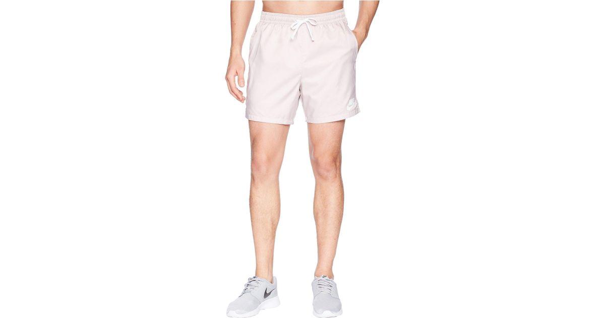 e6186369b151c Nike Woven Flow Short (blue Nebula/white/white) Men's Shorts in White for  Men - Lyst