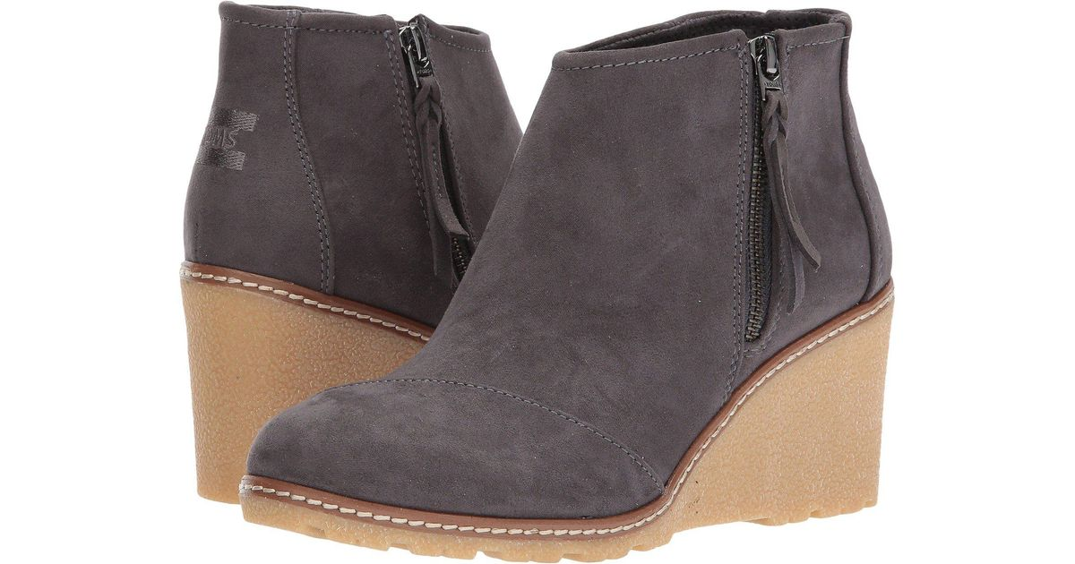 1000c242a55 Lyst - TOMS Avery Wedge