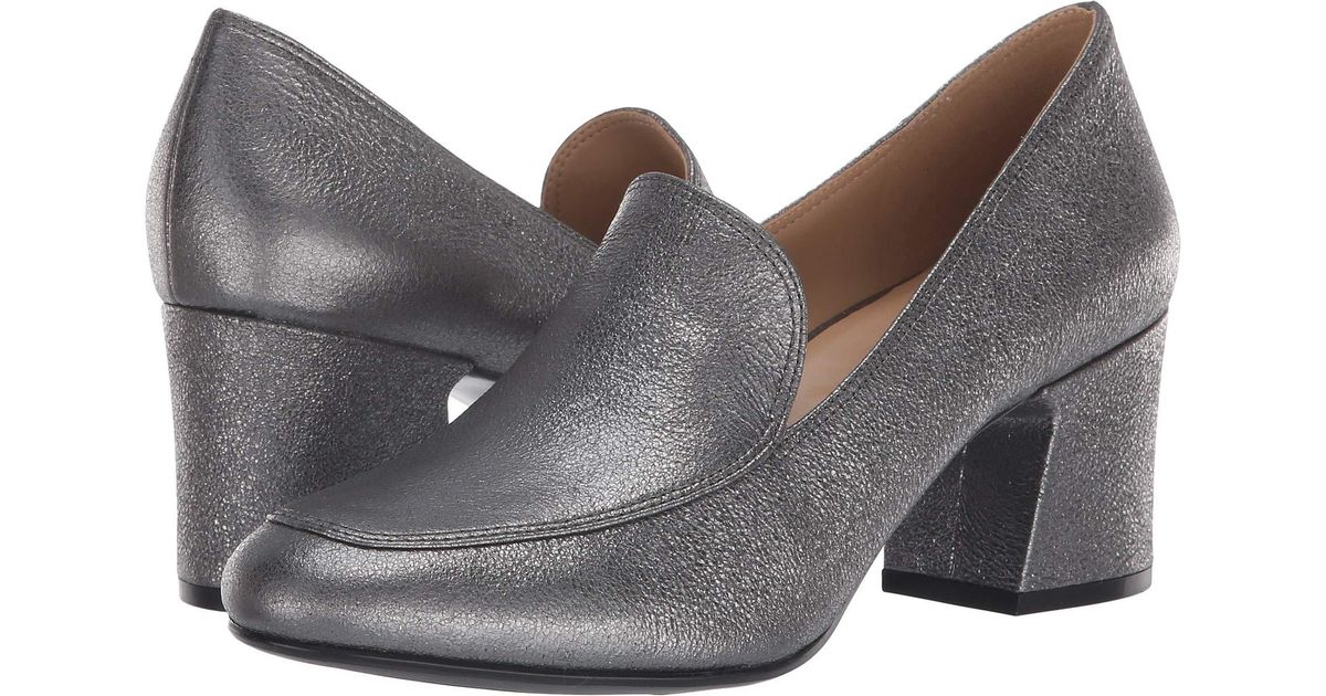 dbeed0cd242 Lyst - Naturalizer Dany (pewter Sparkle Metallic Leather) Women s Shoes in  Metallic