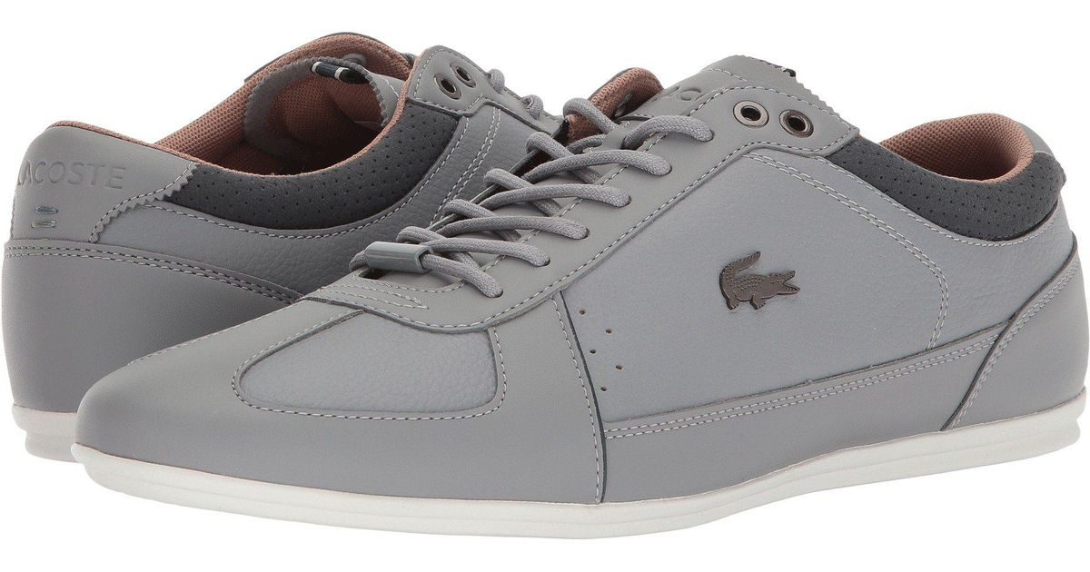 271a0a733e3d Lyst - Lacoste Evara 118 1 (light Brown dark Brown) Men s Shoes in Gray for  Men