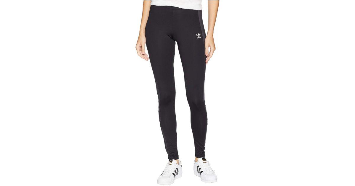 b896b5bbcbb9f adidas Originals Racing Aa-43 Leggings (black) Women's Workout in Black -  Lyst