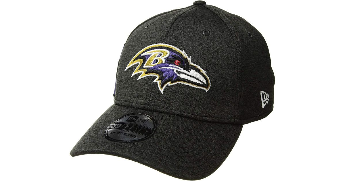 f3b8ff05123 Lyst - KTZ 39thirty Official Sideline Home Stretch Fit - Baltimore Ravens ( black purple) Caps in Black for Men