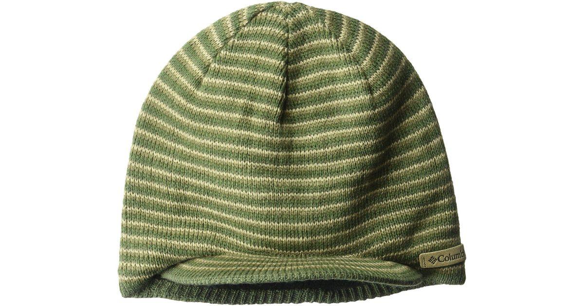 4b960797715f Lyst - Columbia Northern Peaktm Visor Beanie (mossy Green) Beanies in Green  for Men