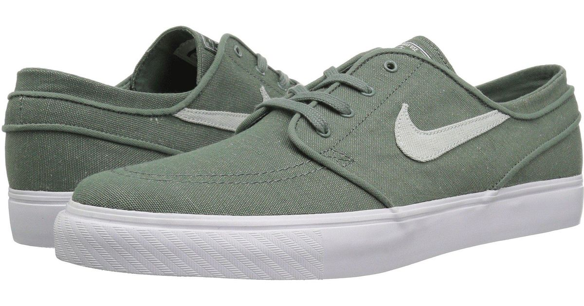 cheap for discount 1728a ec7e1 Lyst - Nike Zoom Stefan Janoski Canvas Deconstructed in Green for Men -  Save 2%