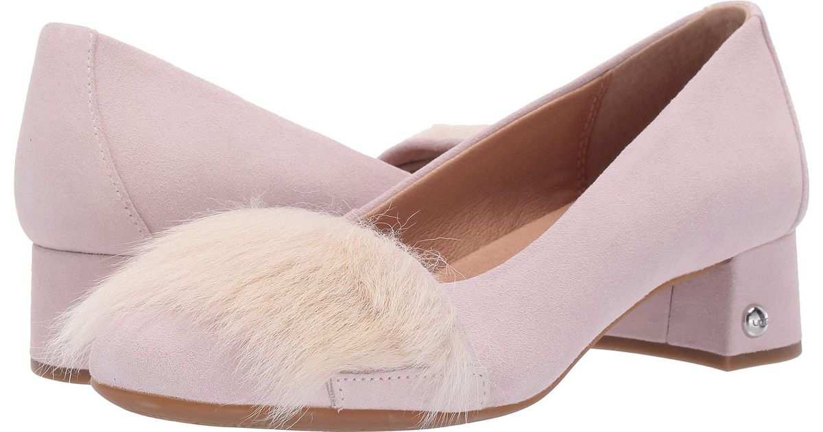 53b895edd1f Ugg - Koa Fluff Heel (seashell Pink) Women's Shoes - Lyst