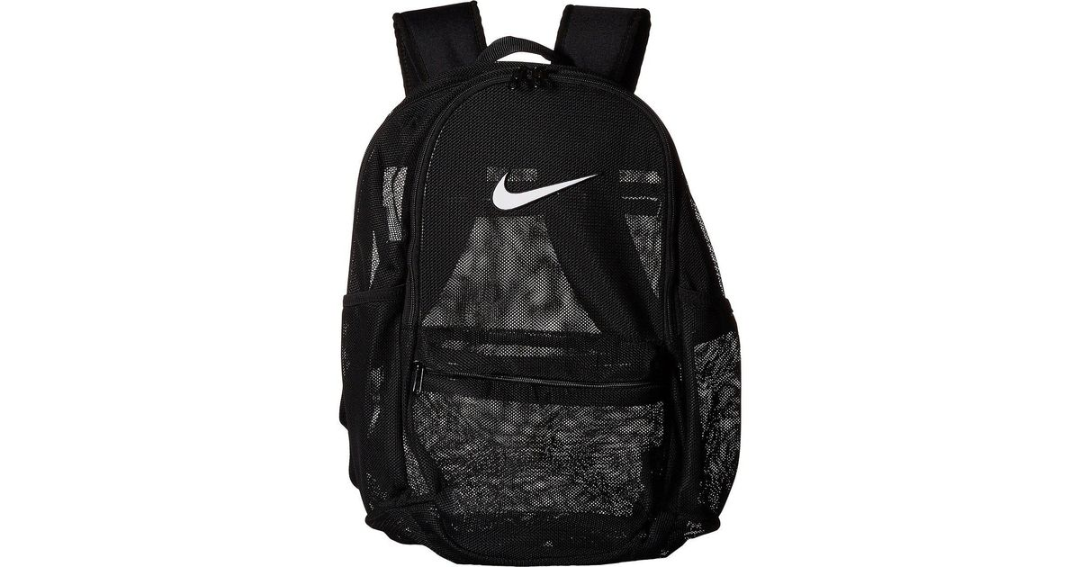 how to buy reliable quality release date: Nike Black Brasilia Mesh Backpack for men