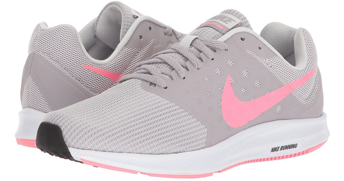 f9e55856bceb Lyst - Nike Downshifter 7 (vast Grey sunset Pulse atmosphere Grey) Women s  Running Shoes in Gray