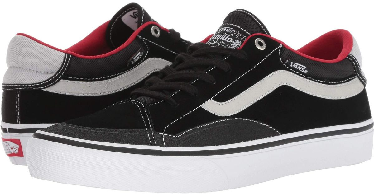 249dcaea6b Lyst - Vans Tnt Advanced Prototype (black magenta white) Men s Skate Shoes  in Black for Men