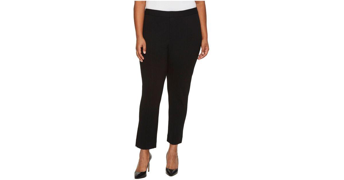 987da438146 Lyst - NYDJ Plus Size Ponte Ankle Pants In Black (black) Women s Jeans in  Black