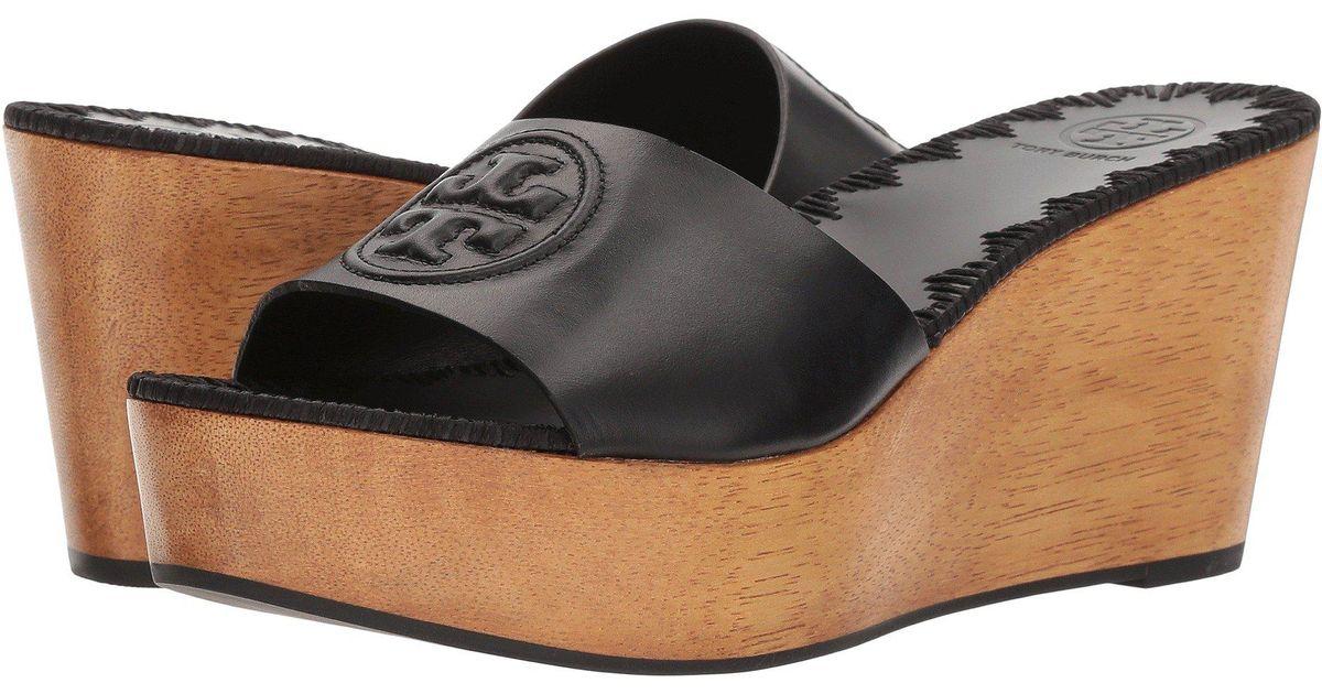 a577458a5499 Lyst - Tory Burch Sandals in Black - Save 48%