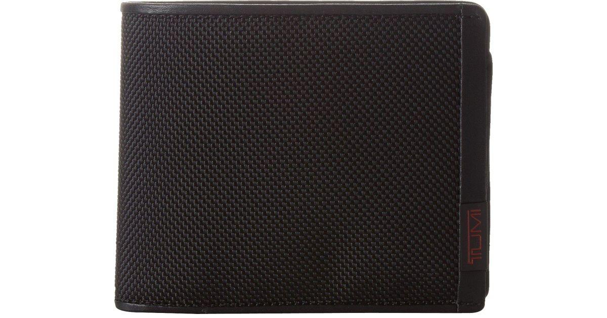 new arrivals c03ee cf6fa Tumi - Alpha - Global Center Flip Id Passcase (black) Wallet for Men - Lyst